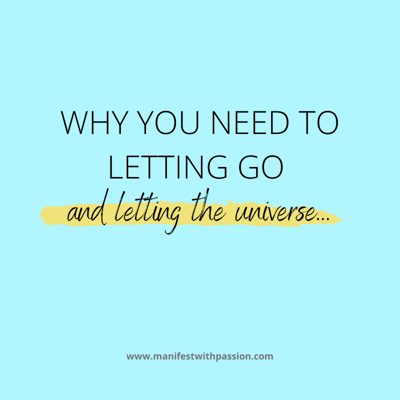 letting go of