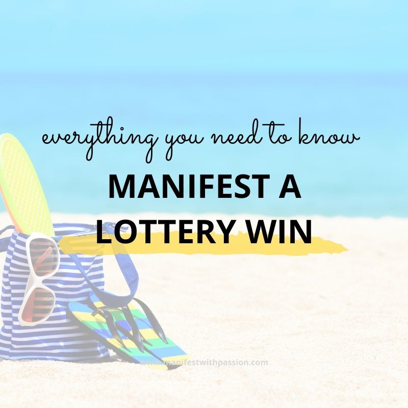 manifest the lottery